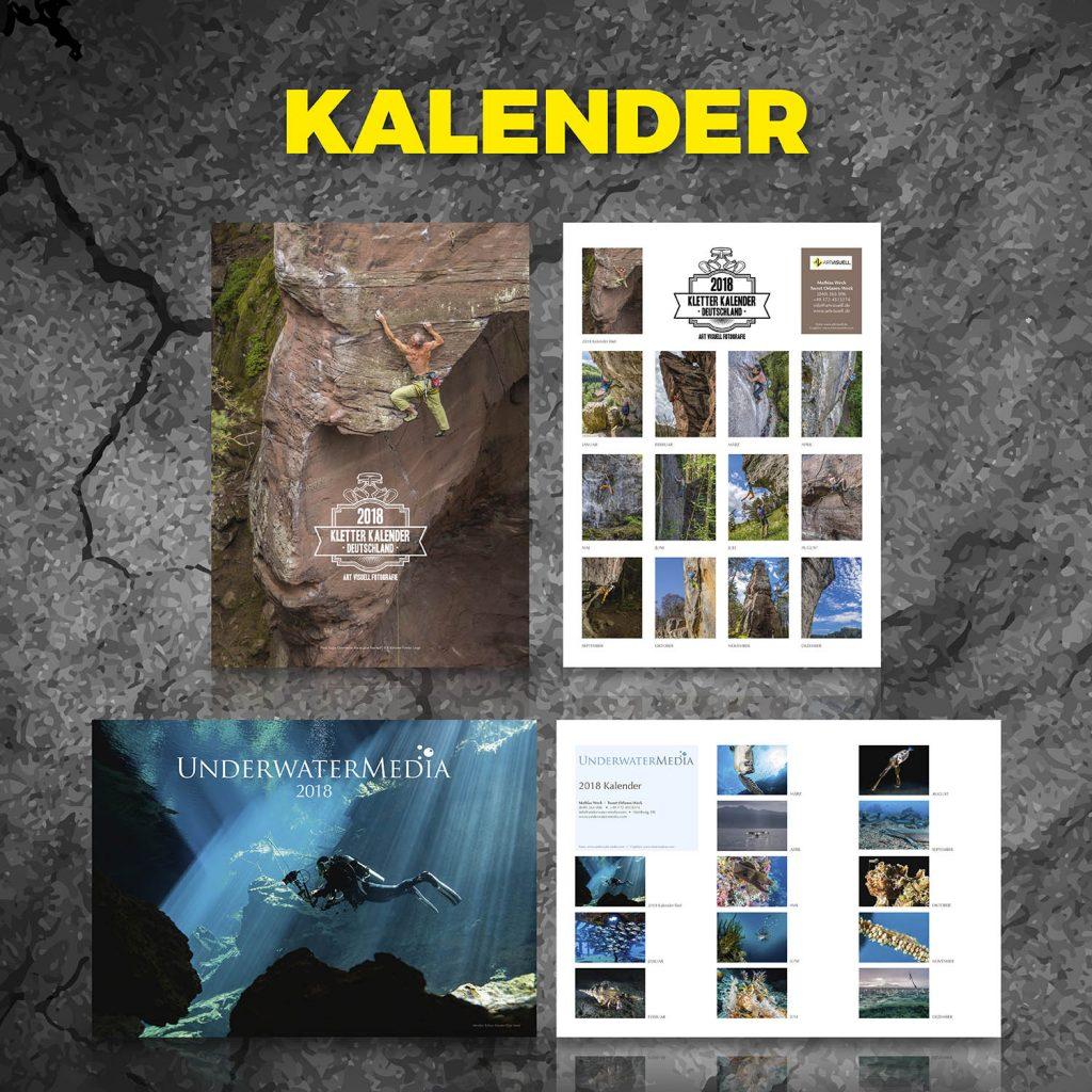 Klettern, Tauchen, Kalender, T-Shirts, frech, lustig, cool, hochwertig