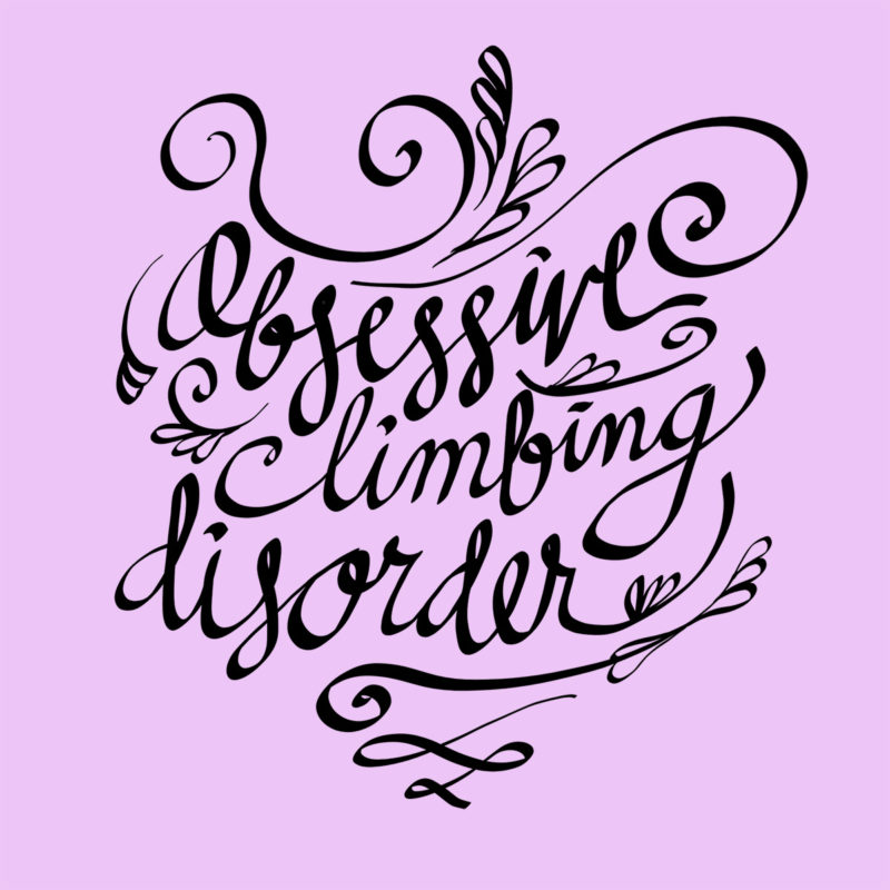 OCD - Obsessive - Climbing Disorder - Kletter T-Shirt