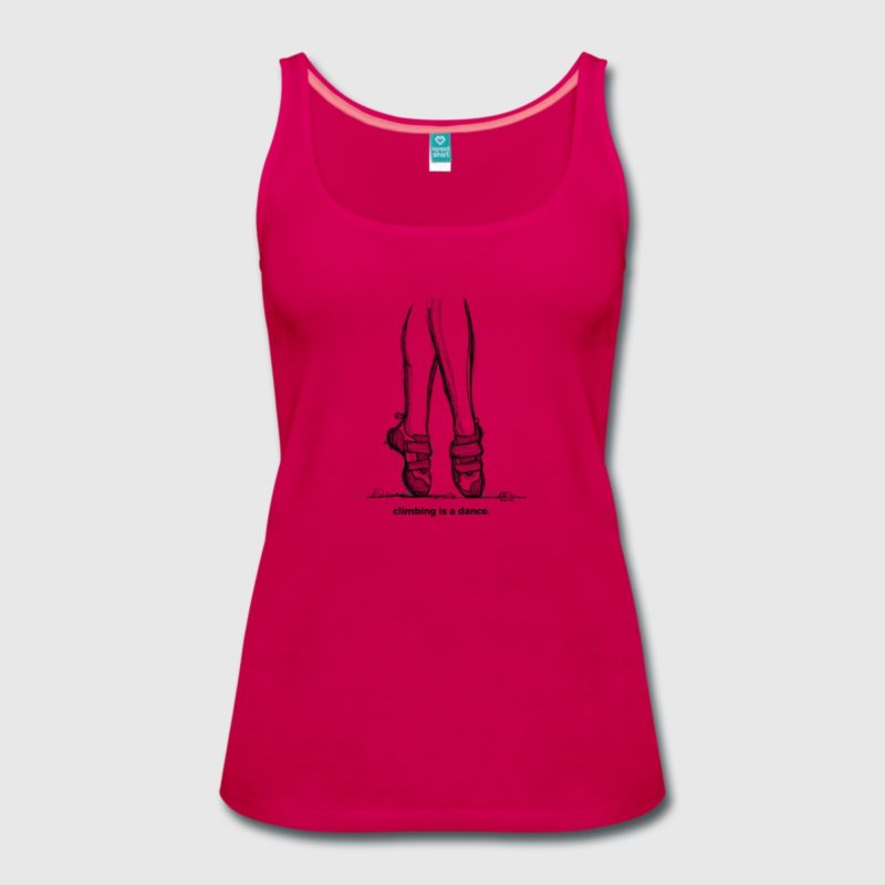 climbing is a dance Tank Top - Kletter T-Shirt