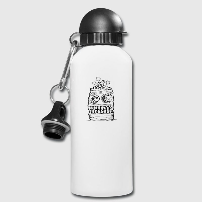 halloween monster thermo bottle jug