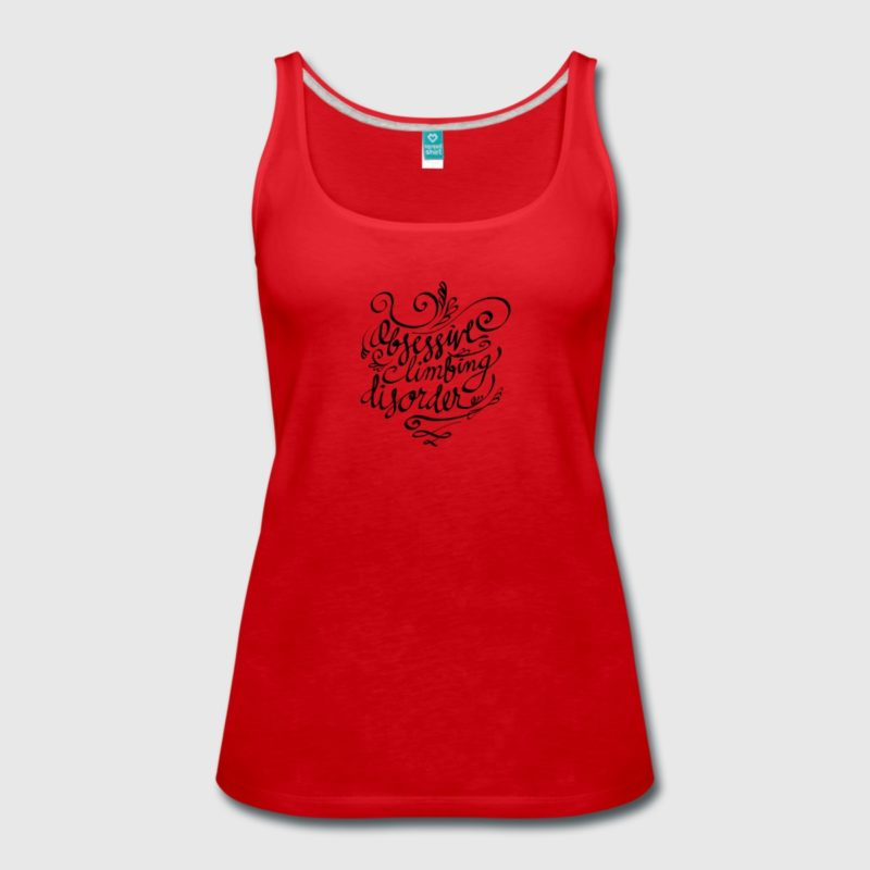 OCD - Obsessive - Climbing Disorder Tank Top - Kletter T-Shirt